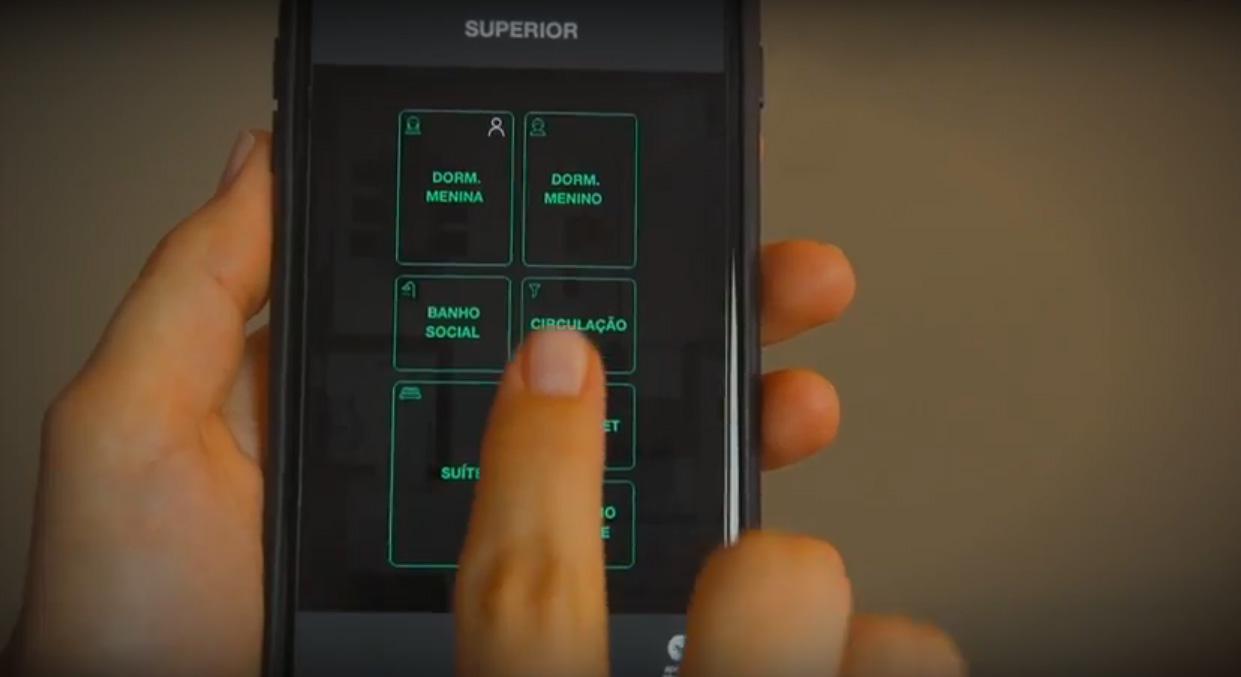 Casa inteligente e interativa