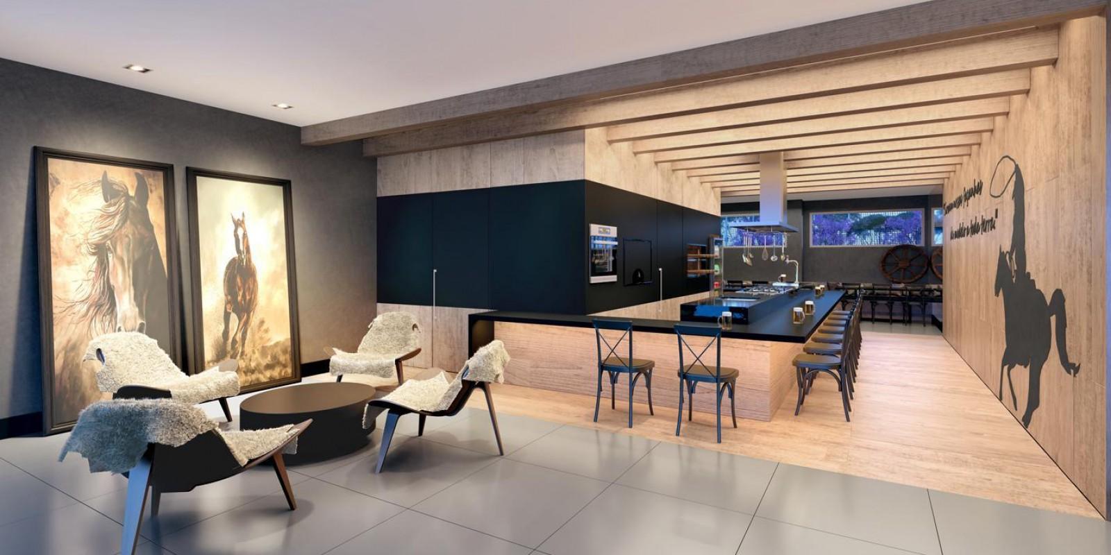 TPS Imóveis - Veja Foto 3 de 5 do Apartamento A Venda 3 dormitórios Porto Alegre