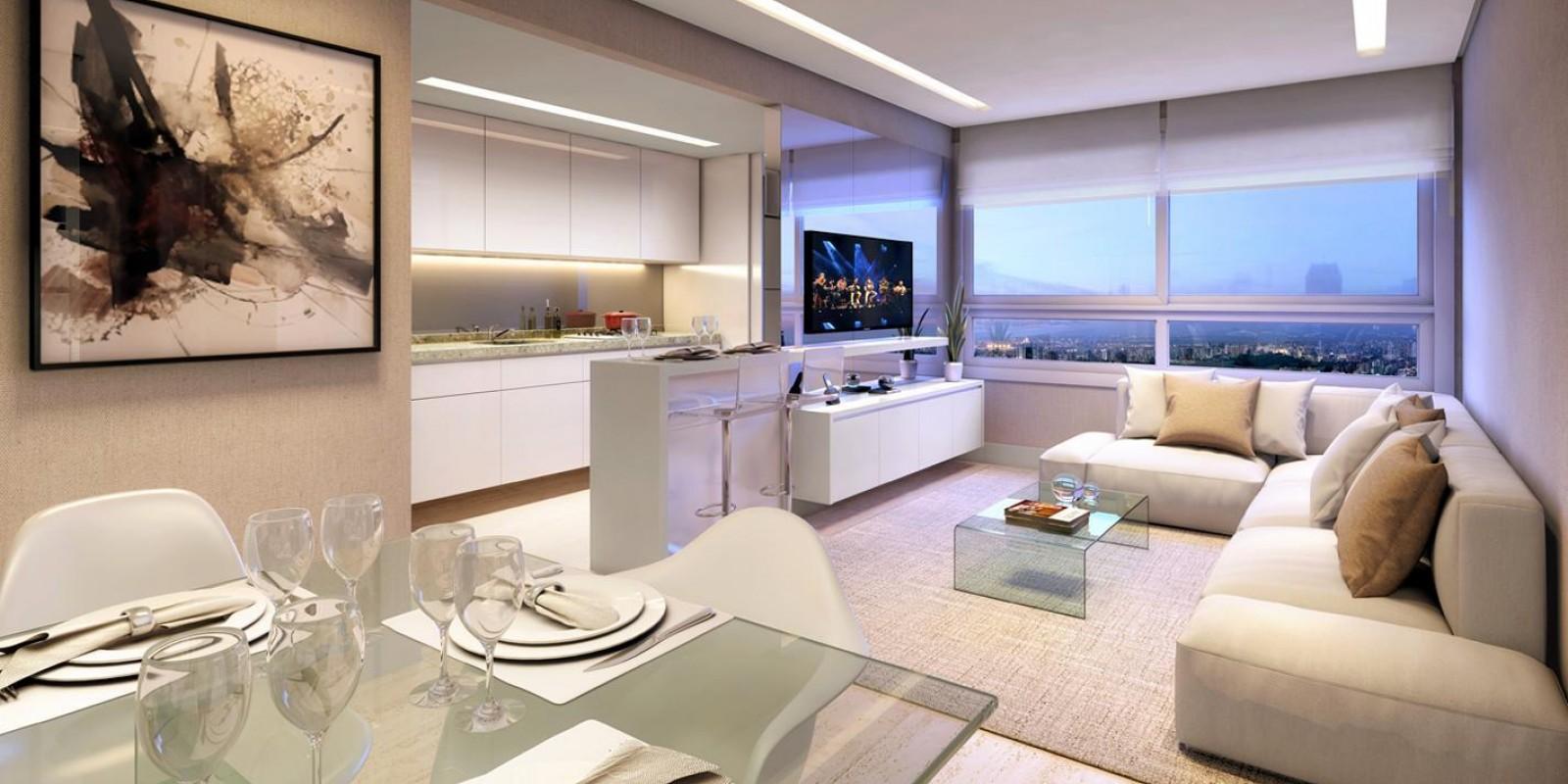 TPS Imóveis - Veja Foto 4 de 5 do Apartamento A Venda 3 dormitórios Porto Alegre