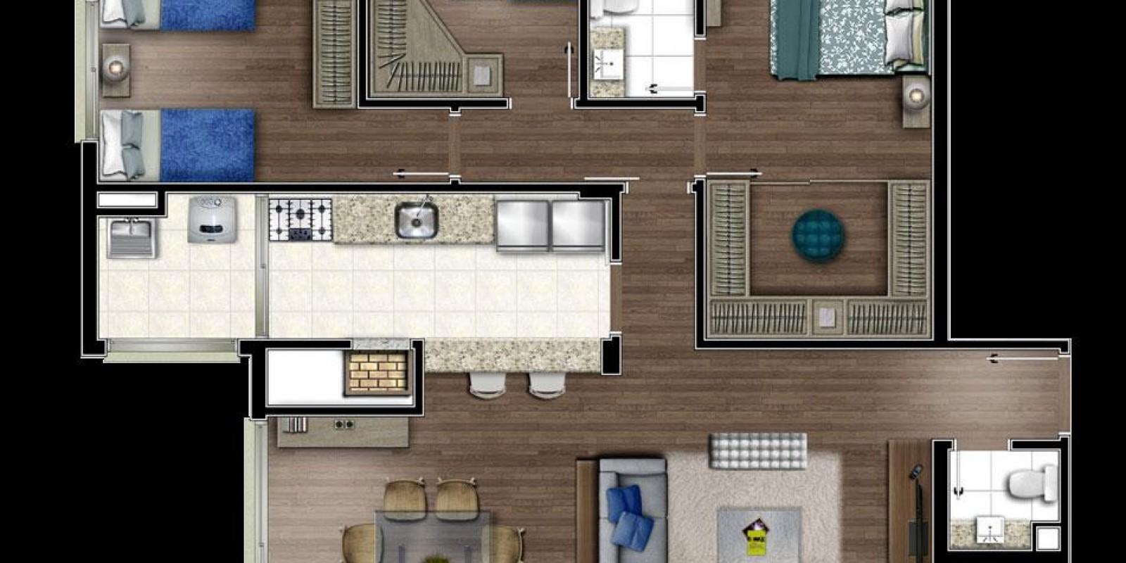 TPS Imóveis - Veja Foto 24 de 25 do Apartamento A Venda 2 dormitórios Em Porto Alegre