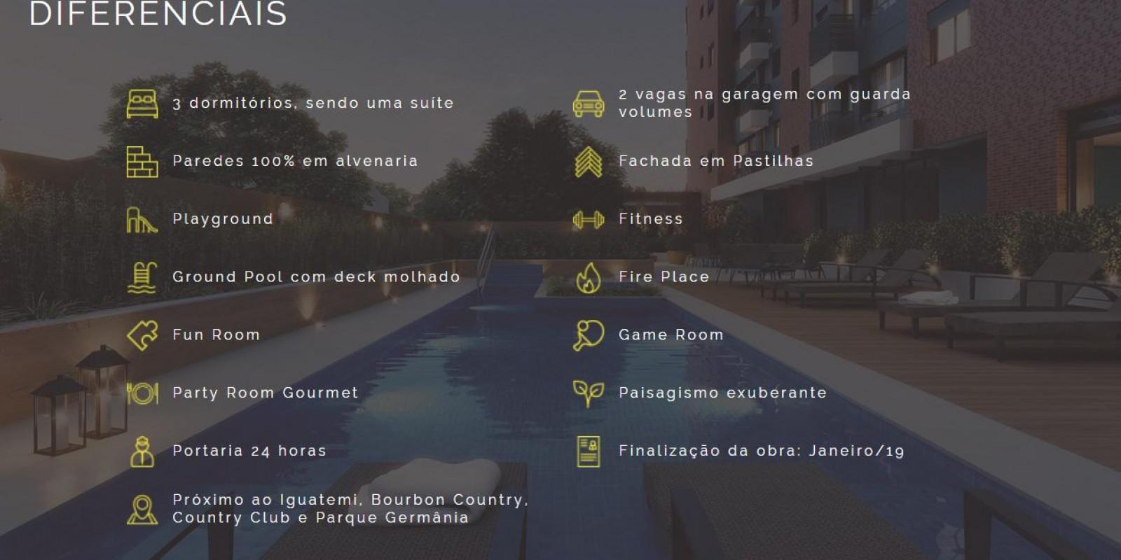 TPS Imóveis - Veja Foto 21 de 22 do Apartamento A Venda 3 dormitórios Porto Alegre