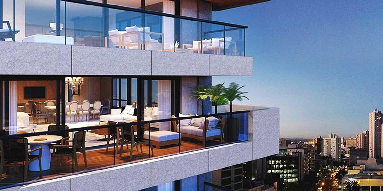 TPS Imóveis - Veja Foto 1 de 19 do 1 Apartamento por Andar em Frente ao Parcão