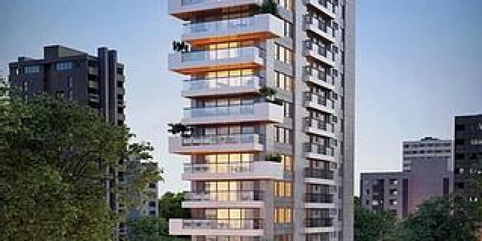 TPS Imóveis - Veja Foto 2 de 19 do 1 Apartamento por Andar em Frente ao Parcão