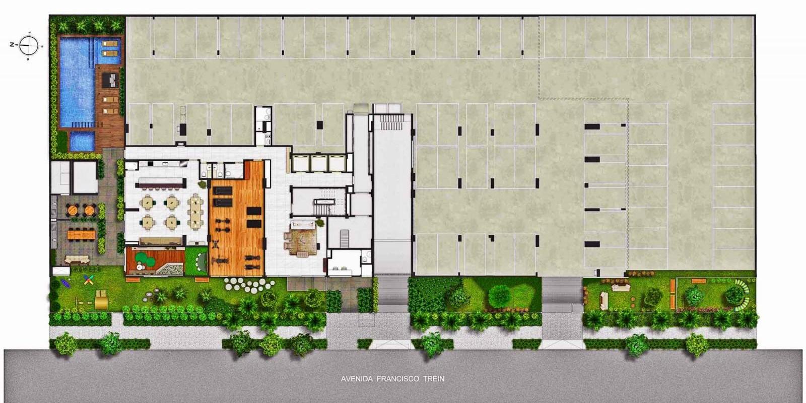 TPS Imóveis - Veja Foto 16 de 18 do Apartamentos a Venda ao Lado do Bourbon Wallig