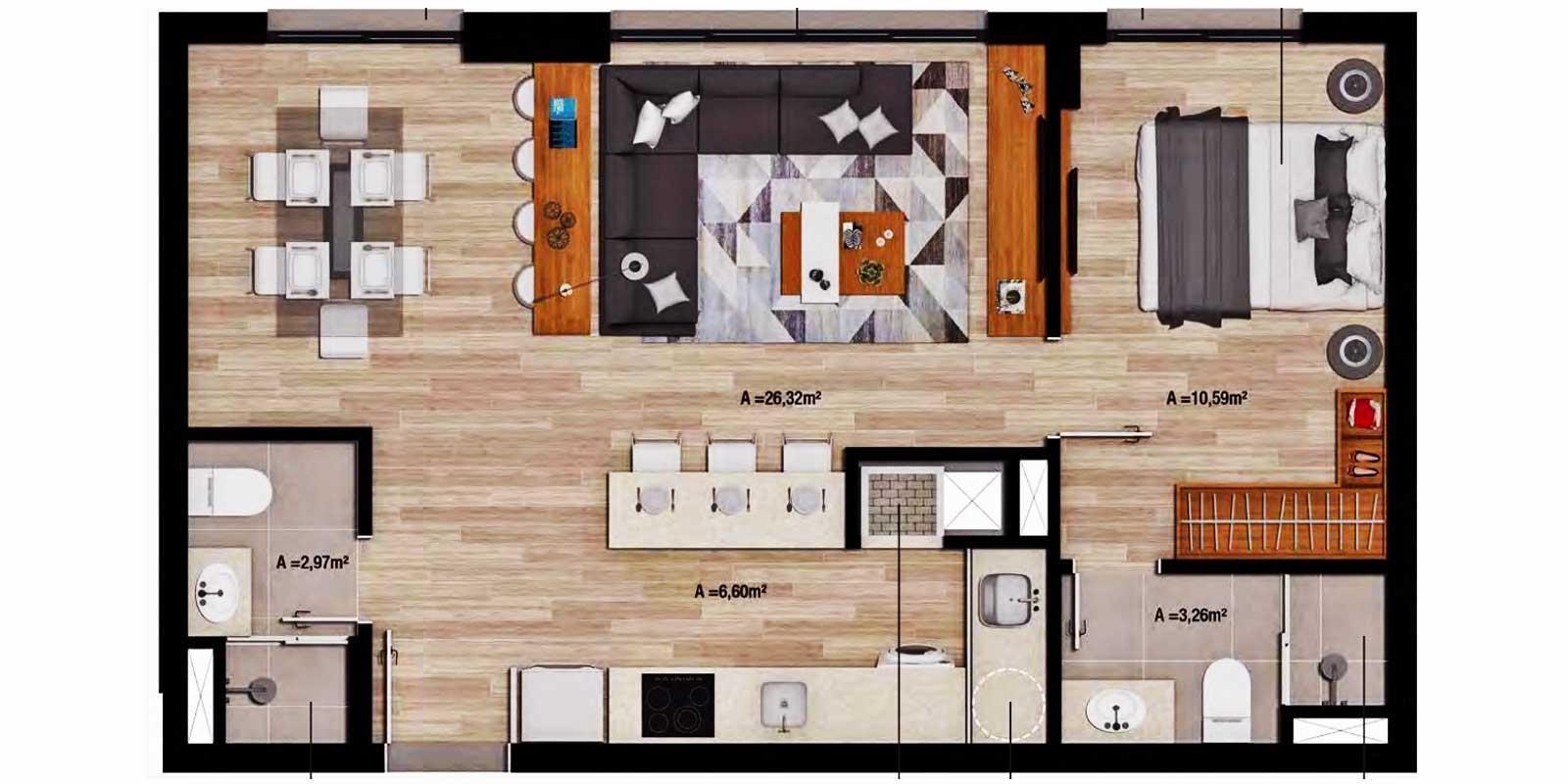 TPS Imóveis - Veja Foto 12 de 16 do Apartamento Petrópolis Porto Alegre