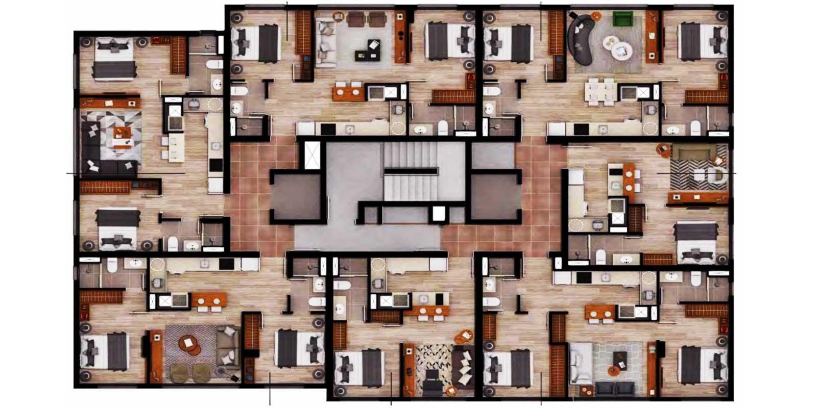TPS Imóveis - Veja Foto 16 de 16 do Apartamento Petrópolis Porto Alegre