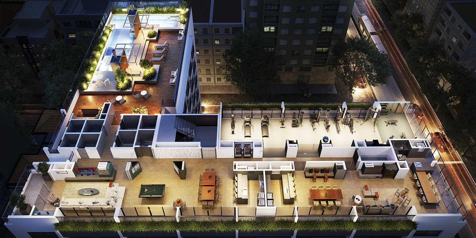 TPS Imóveis - Veja Foto 1 de 19 do Apartamento Bairro Rio Branco Porto Alegre