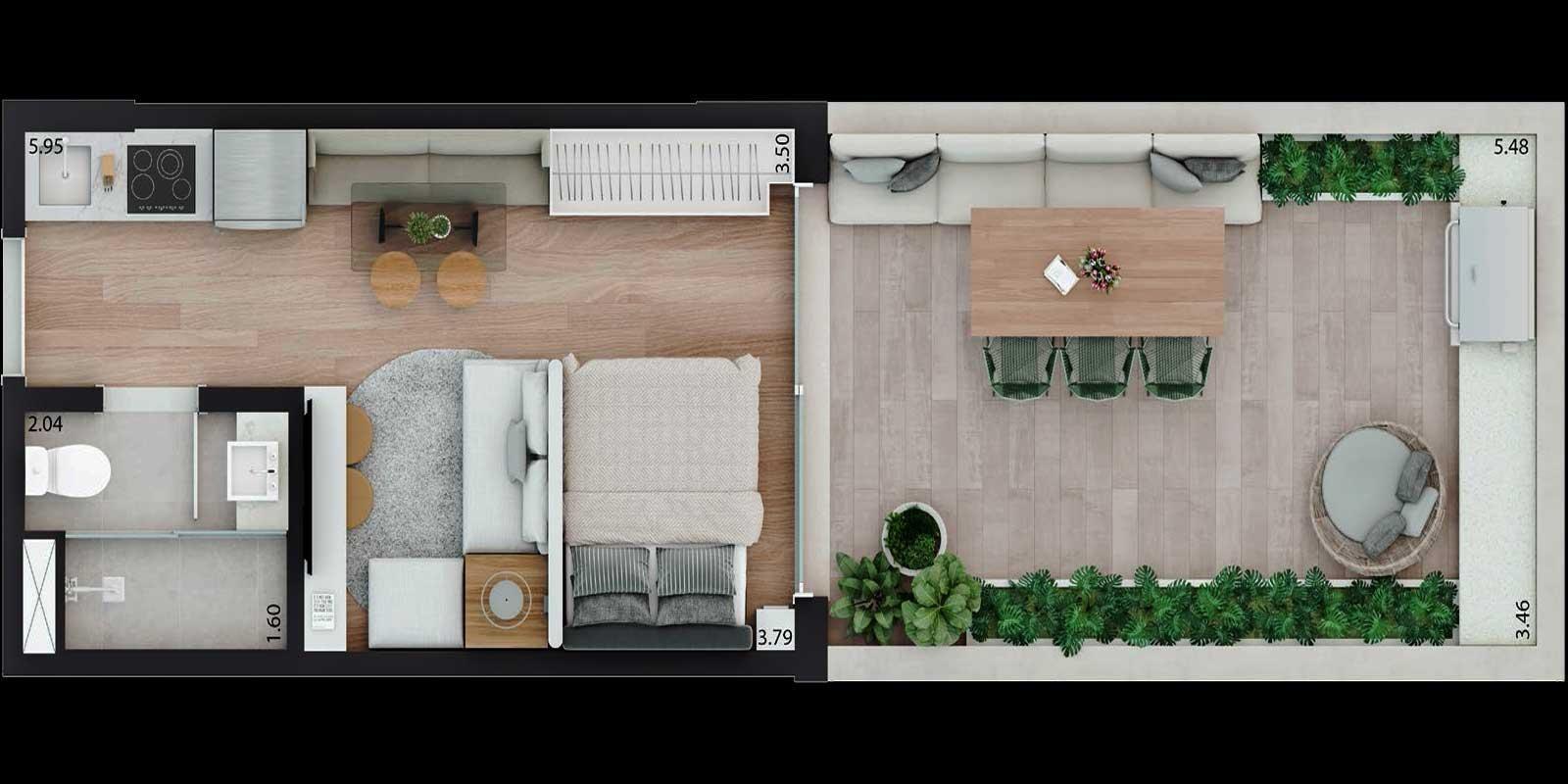 TPS Imóveis - Veja Foto 18 de 20 do Apartamento Parque Moinhos - Parcão