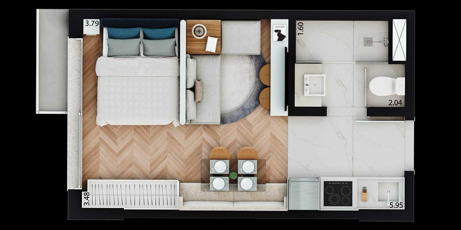 TPS Imóveis - Veja Foto 19 de 20 do Apartamento Parque Moinhos - Parcão