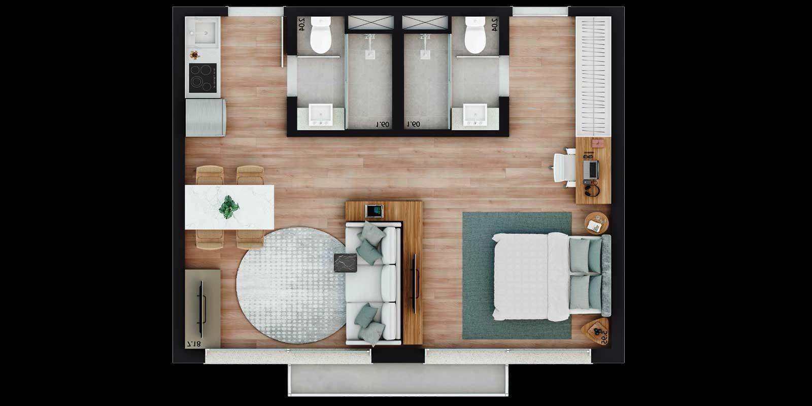 TPS Imóveis - Veja Foto 20 de 20 do Apartamento Parque Moinhos - Parcão