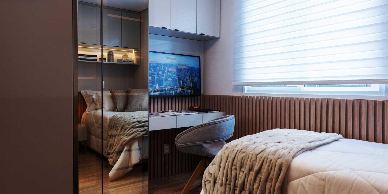 TPS Imóveis - Veja Foto 19 de 32 do Apartamentos de 2 e 3 dormitórios com suíte