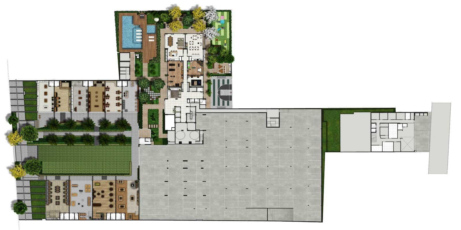 TPS Imóveis - Veja Foto 32 de 32 do Apartamentos de 2 e 3 dormitórios com suíte