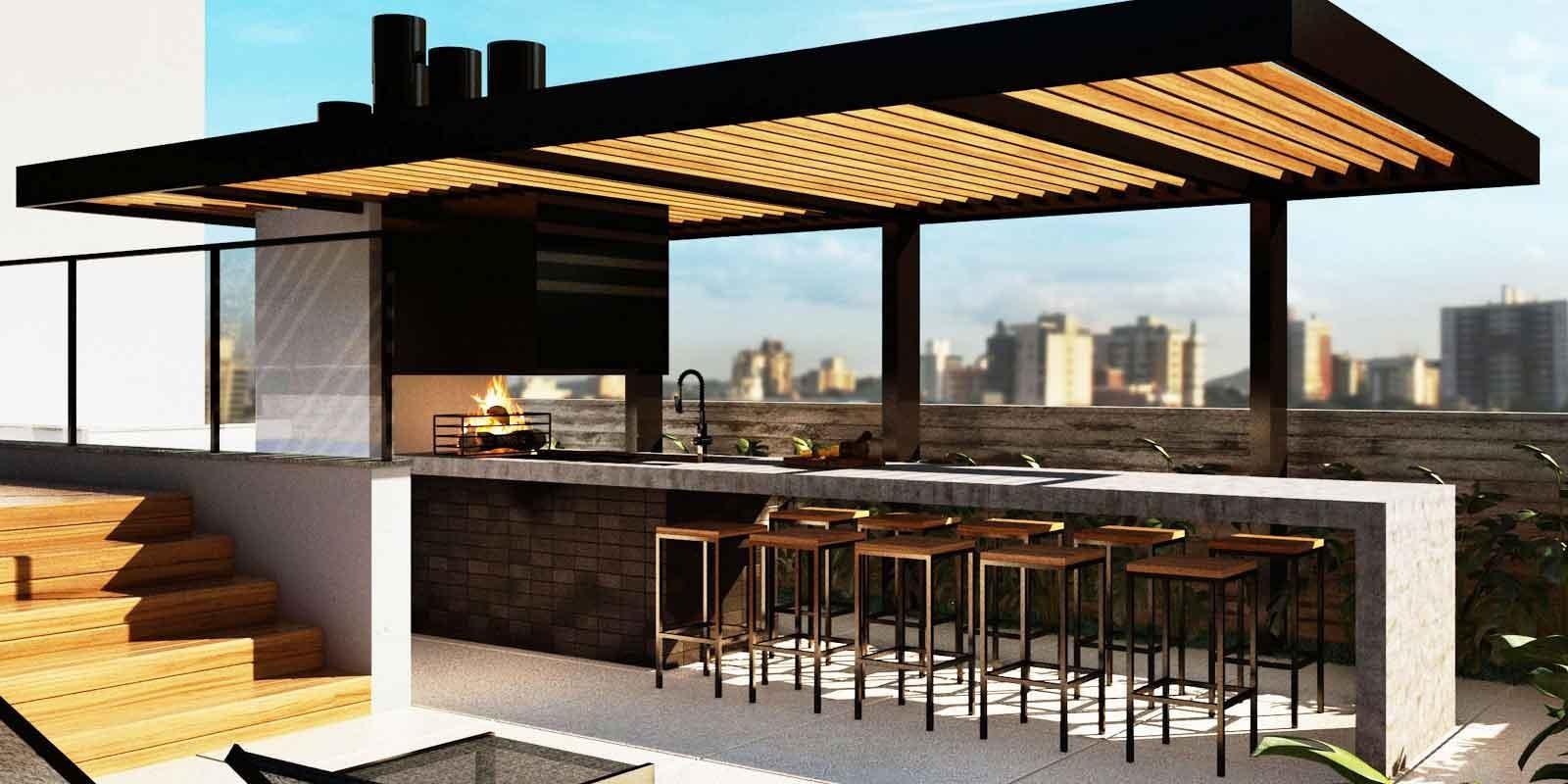 TPS Imóveis - Veja Foto 11 de 20 do Apartamentos com 1 ou 2 suítes com piscina na cobertura