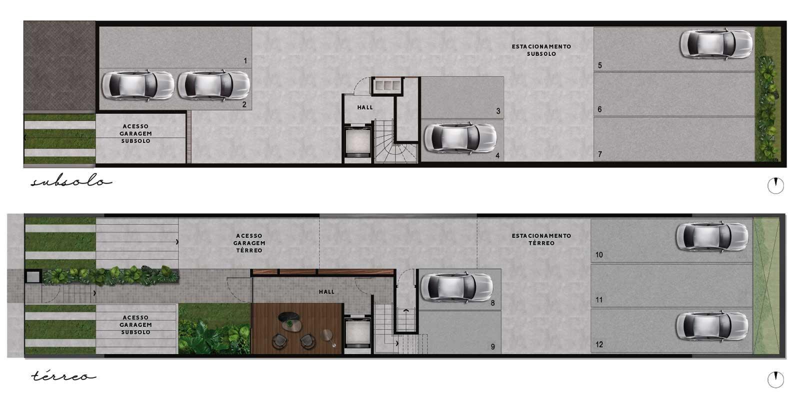 TPS Imóveis - Veja Foto 17 de 20 do Apartamentos com 1 ou 2 suítes com piscina na cobertura