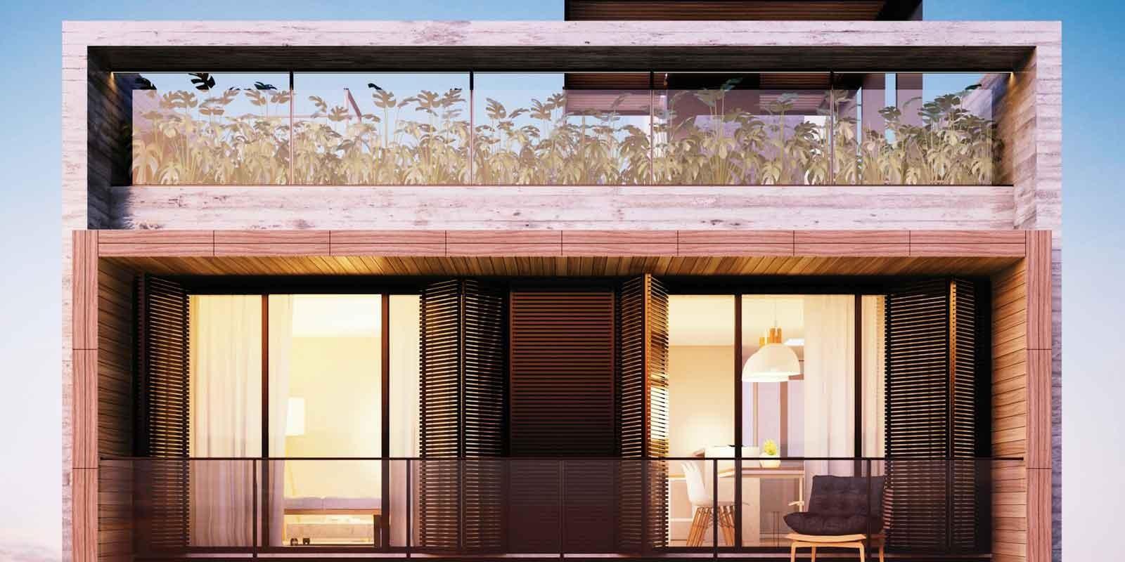TPS Imóveis - Veja Foto 5 de 20 do Apartamentos com 1 ou 2 suítes com piscina na cobertura