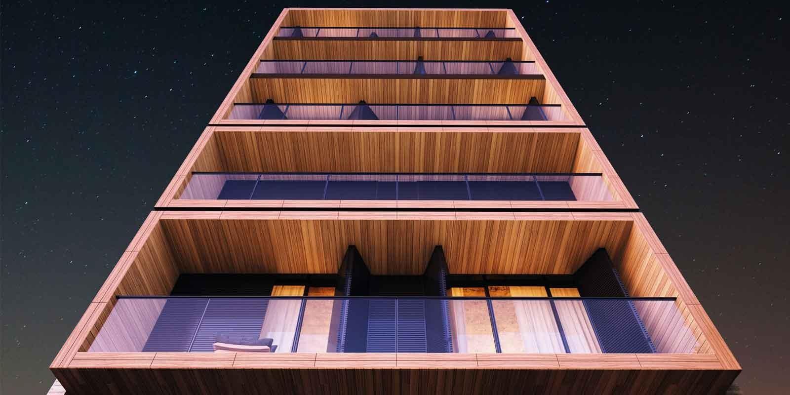 TPS Imóveis - Veja Foto 6 de 20 do Apartamentos com 1 ou 2 suítes com piscina na cobertura