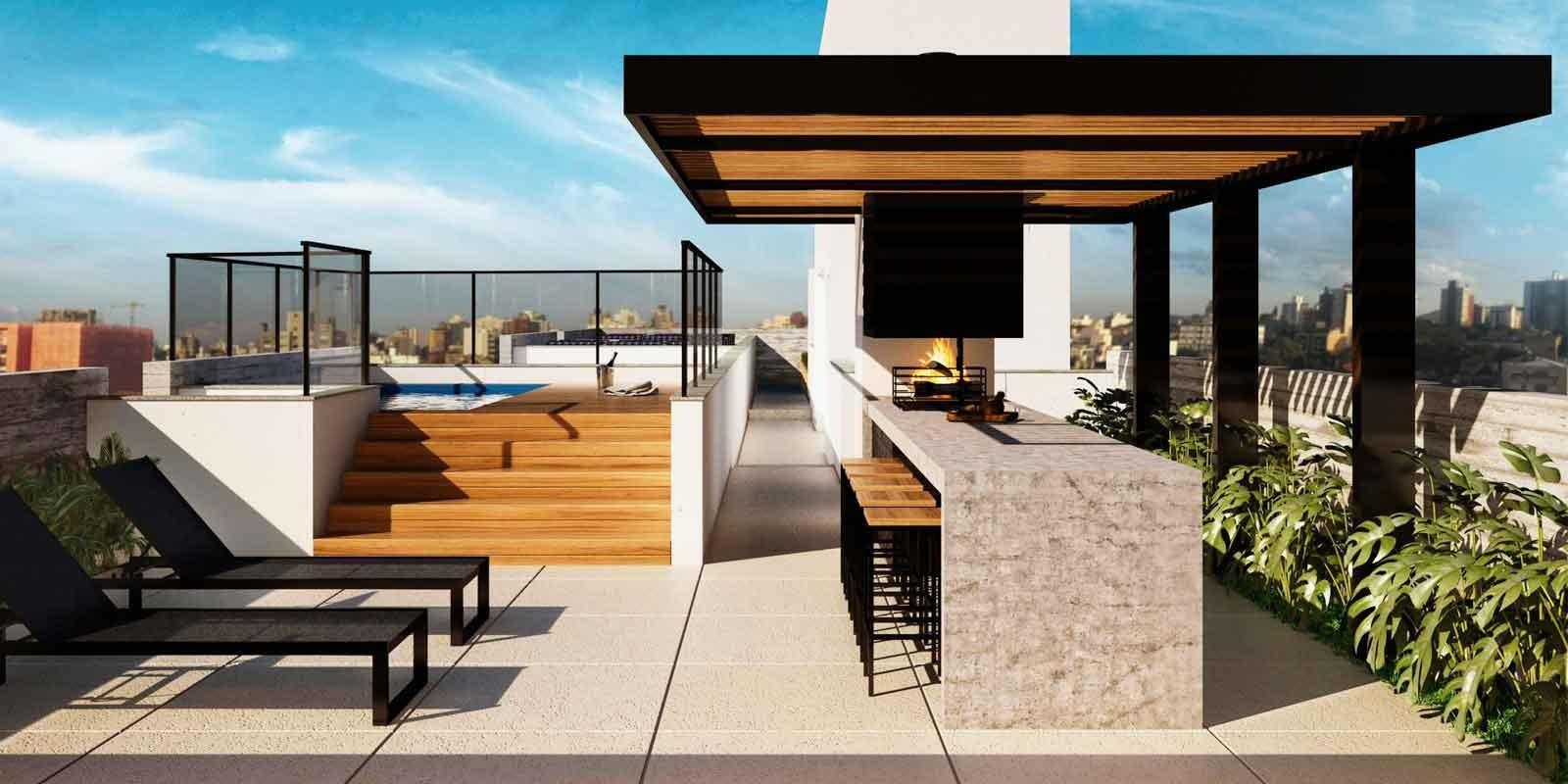 TPS Imóveis - Veja Foto 7 de 20 do Apartamentos com 1 ou 2 suítes com piscina na cobertura