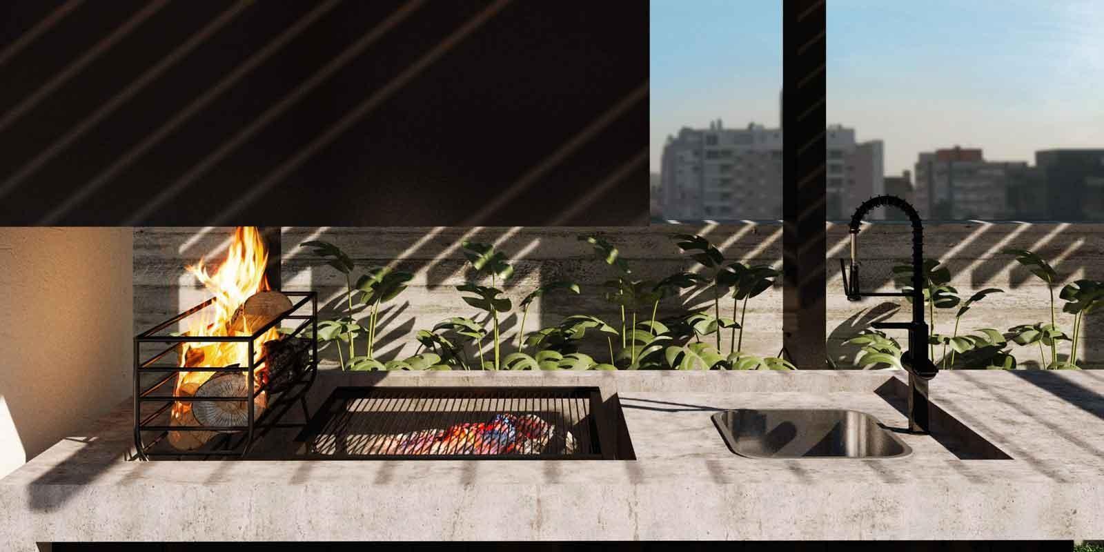 TPS Imóveis - Veja Foto 9 de 20 do Apartamentos com 1 ou 2 suítes com piscina na cobertura